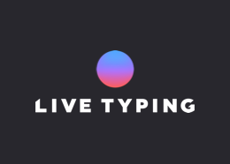Live Typing