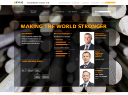 EVRAZ Annual Report & Accounts 2015